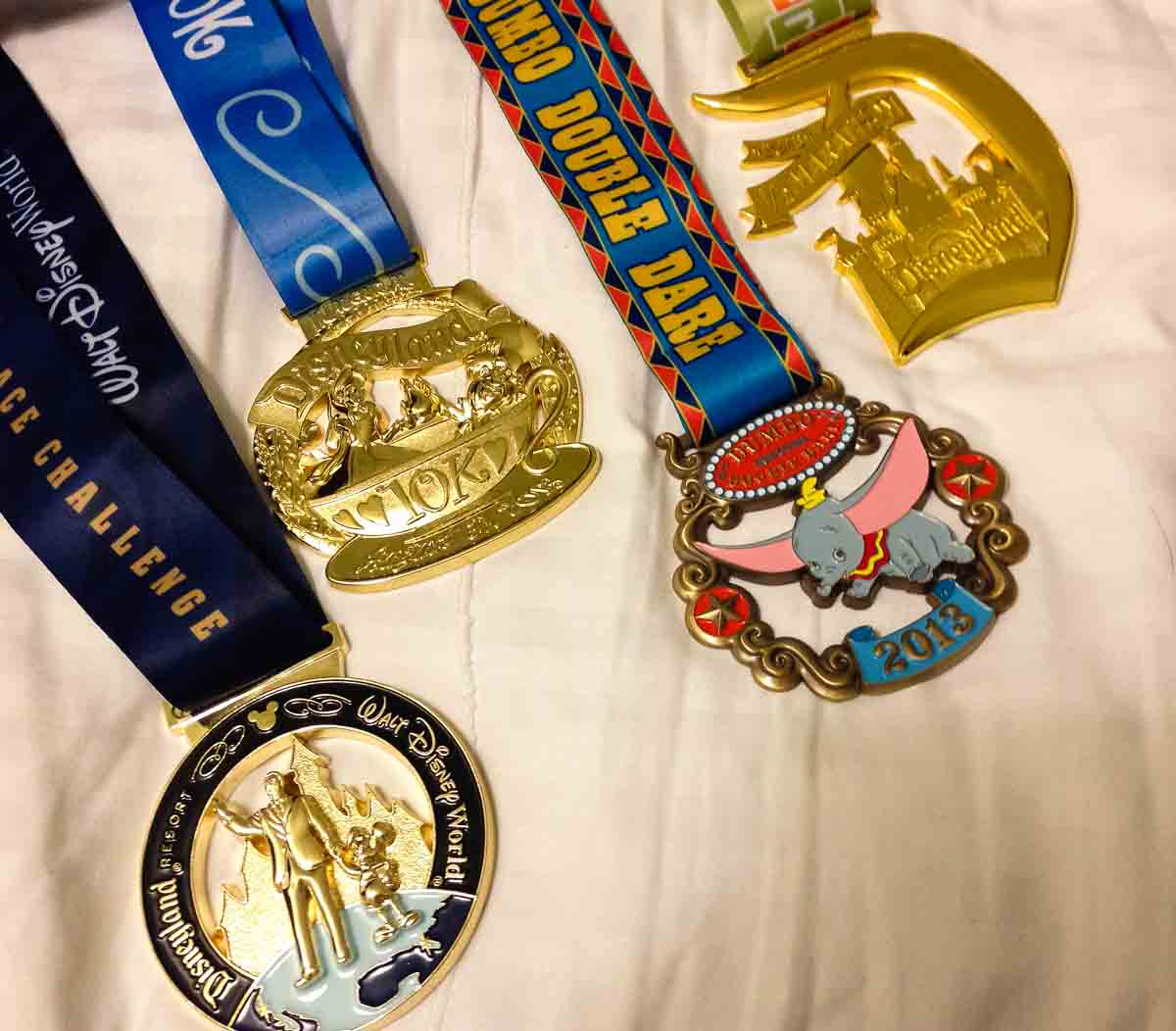 Dumbo Double Dare medal collection