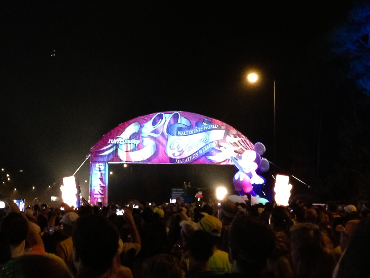 Disney World Marathon start