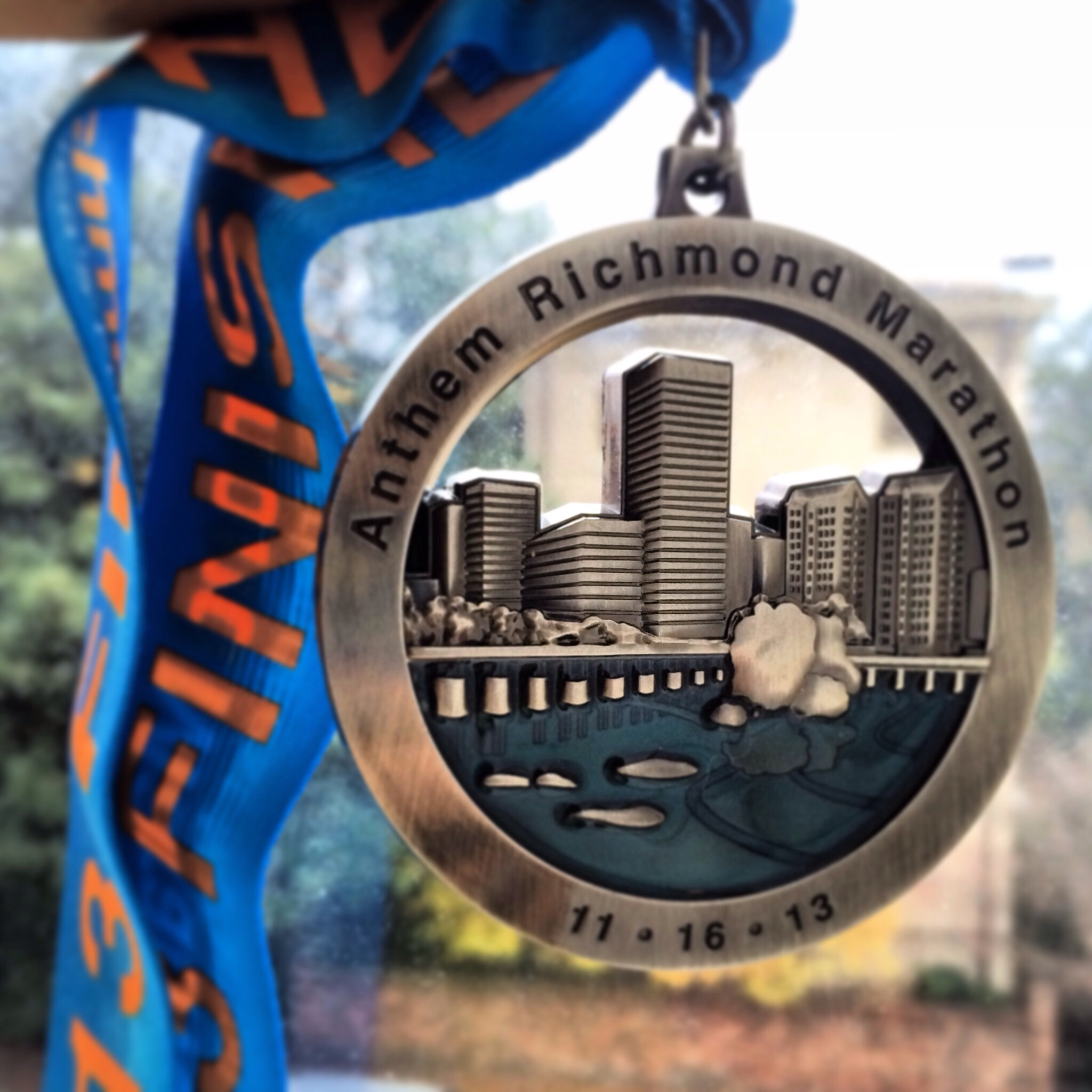 Richmond Marathon Medal