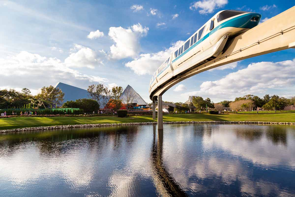 Walt Disney World - Epcot - Monorail