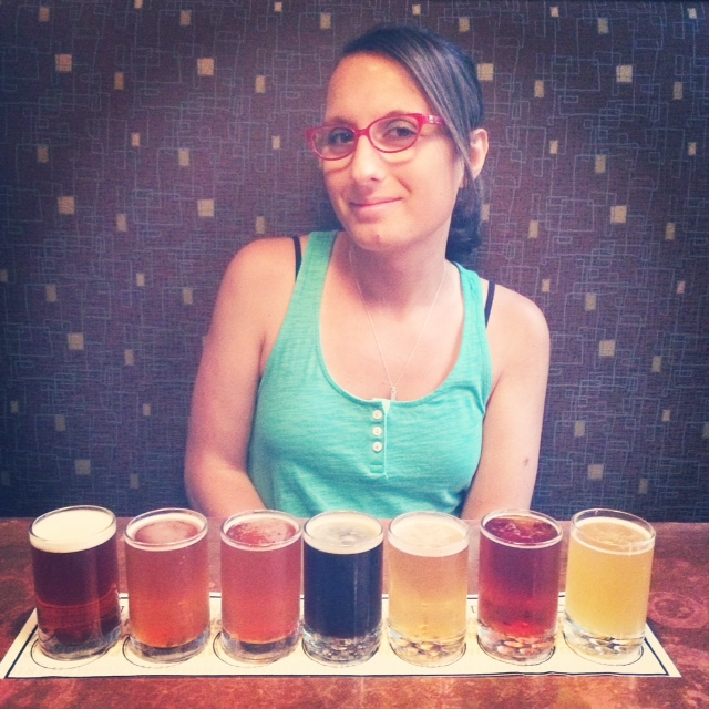 Triumph beer sampler