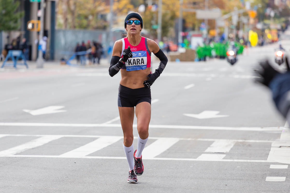 Kara Goucher New York City Marathon 2014