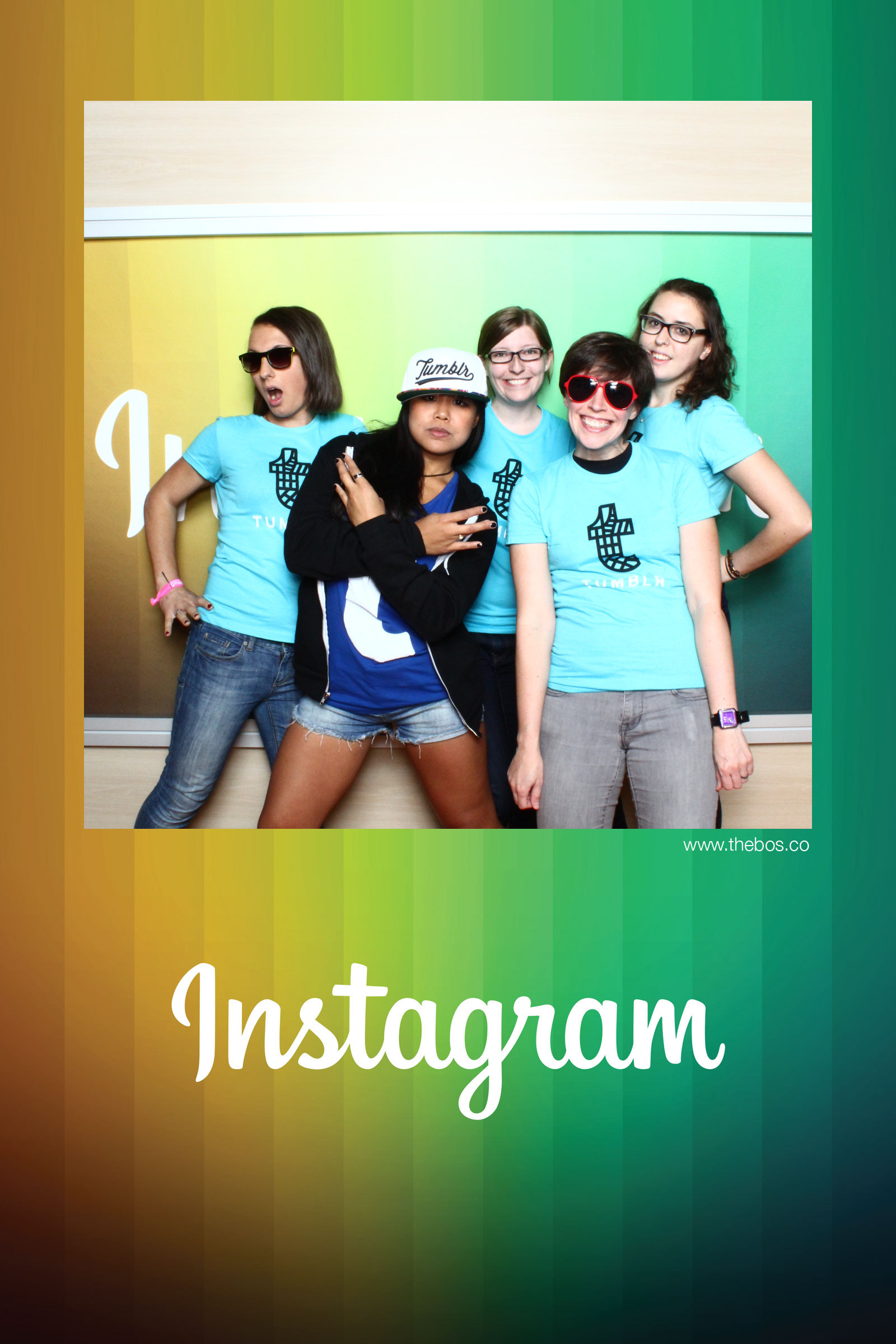Tumblr ladies invading the Instagram booth at the Grace Hopper Celebration!