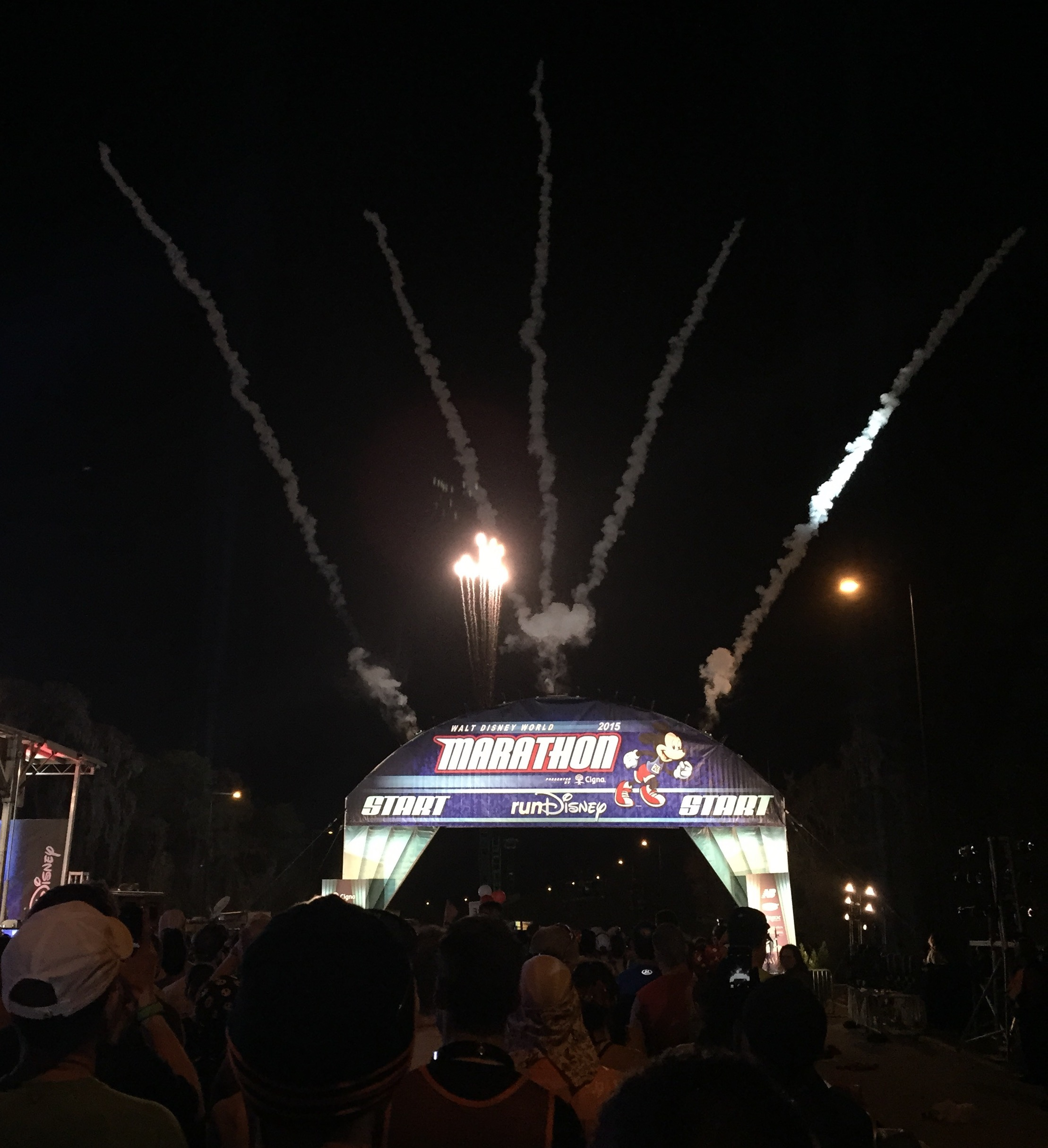 2015 Walt Disney World Marathon start