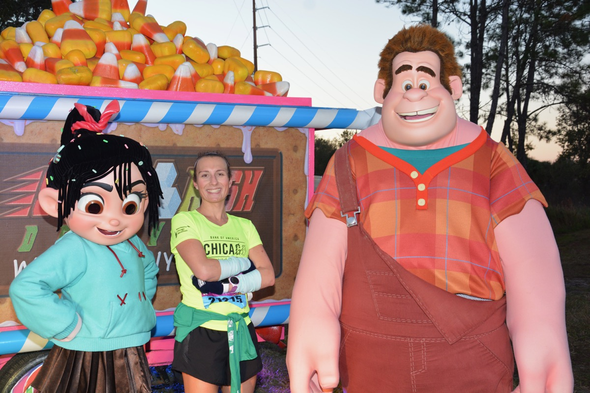 Wreck-It Ralph and Vanellope!