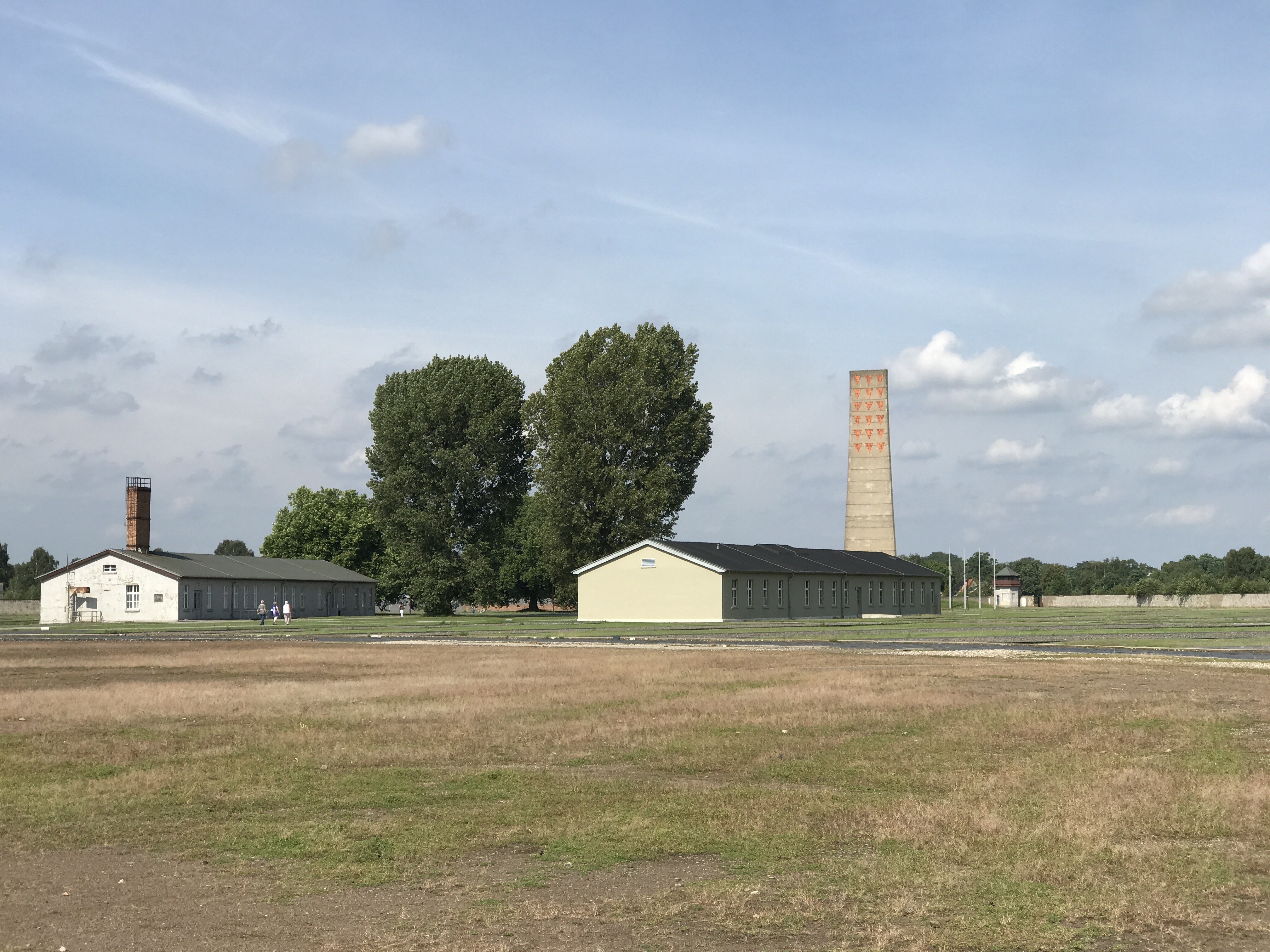Some of what's remaining still at Sachsenhausen. The tower memorial in the back was actually built by the Soviets when they took over the concentration camp after liberating it from the nazis.